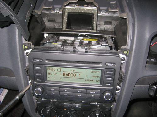 radio vw golf plus