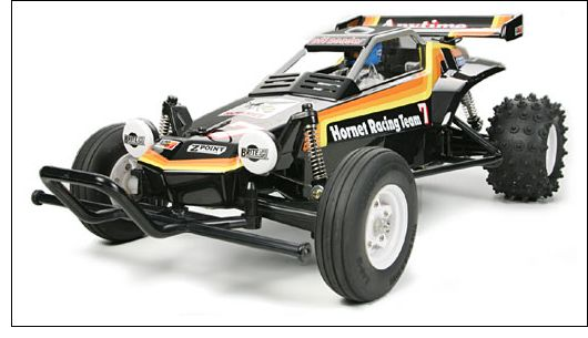Re-living the Tamiya Hornet - superb off-road buggy